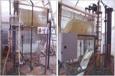 Пилотная установка для исследования интенсифицированных процессов коагуляции